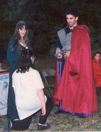 Knighting Ceremony Photo